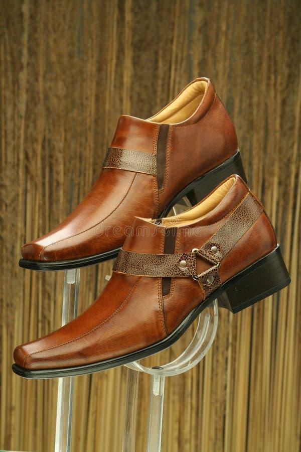 Chaussures formelles en cuir photos libres de droits