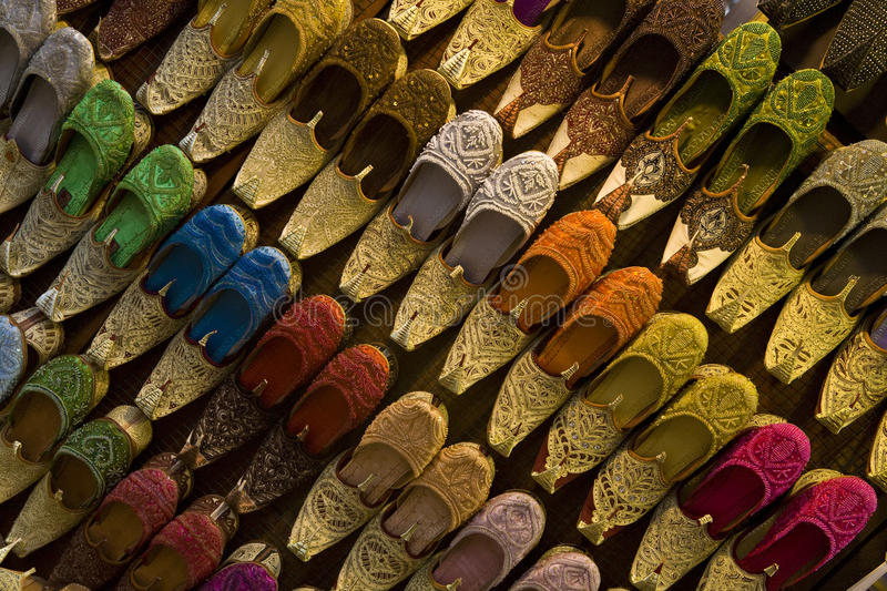 Chaussures indiennes photographie stock
