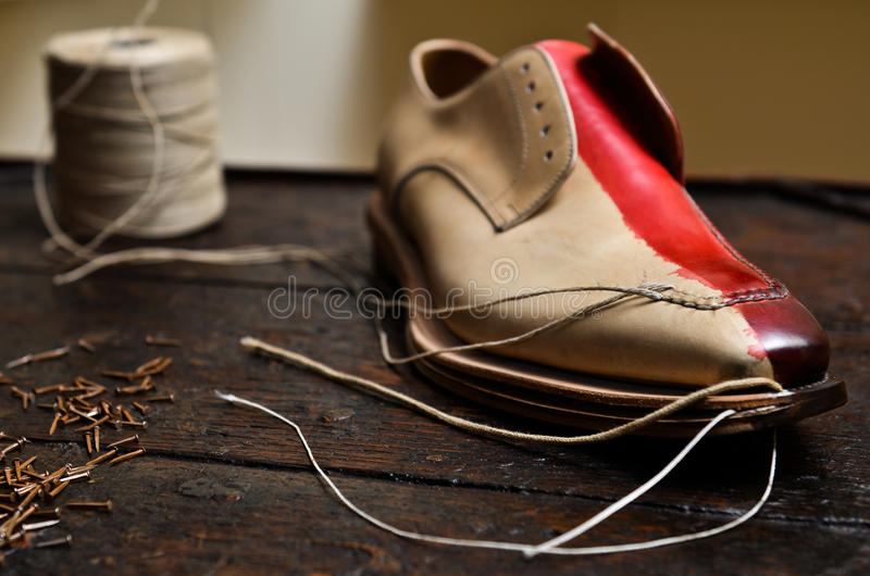 Chaussures italiennes builing image stock