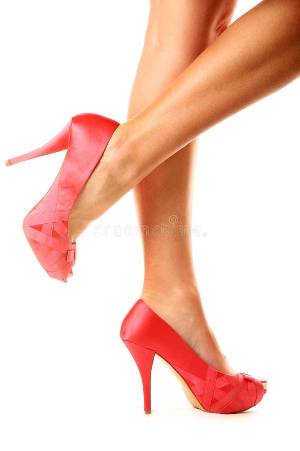 Chaussures Peeptoe images libres de droits