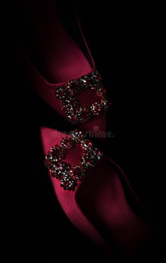 Chaussures rouges image libre de droits