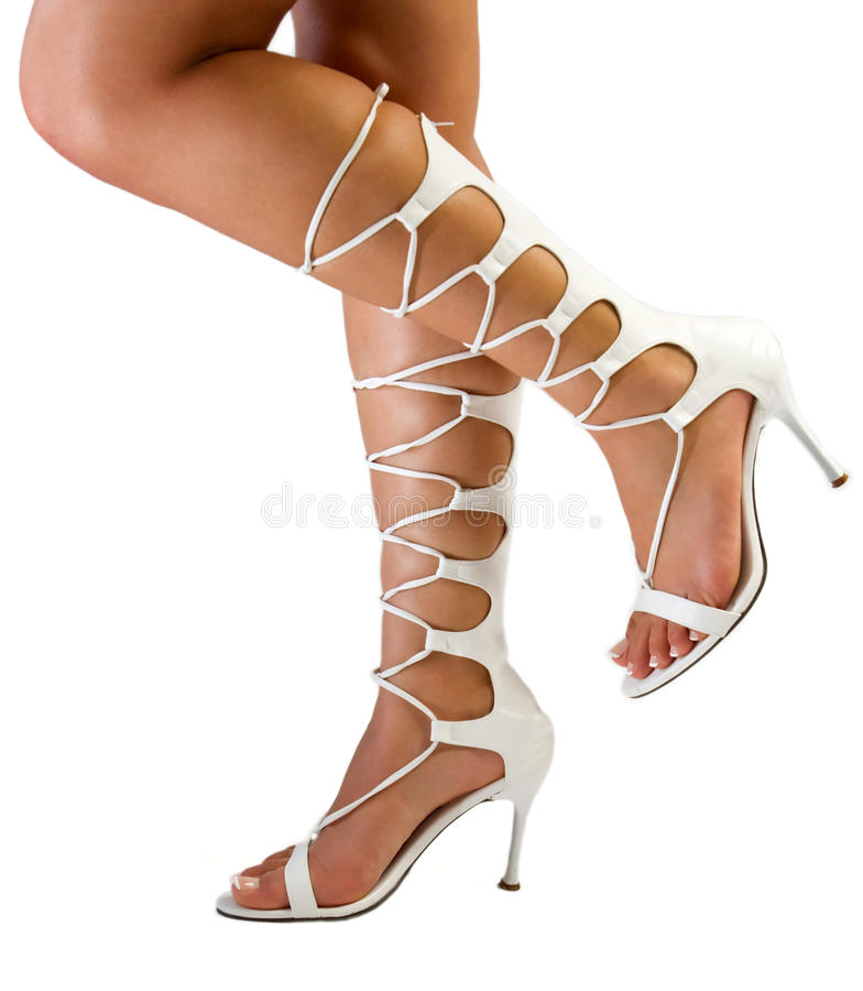 Chaussures sexy image libre de droits