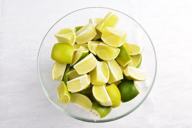 Chaux mûre de fruit photographie stock