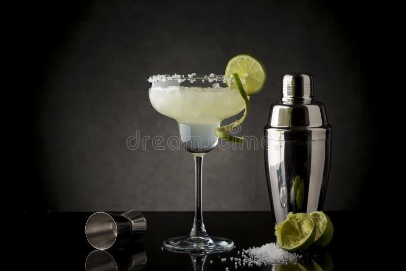 Chaux originale Margarita Cocktail photographie stock libre de droits