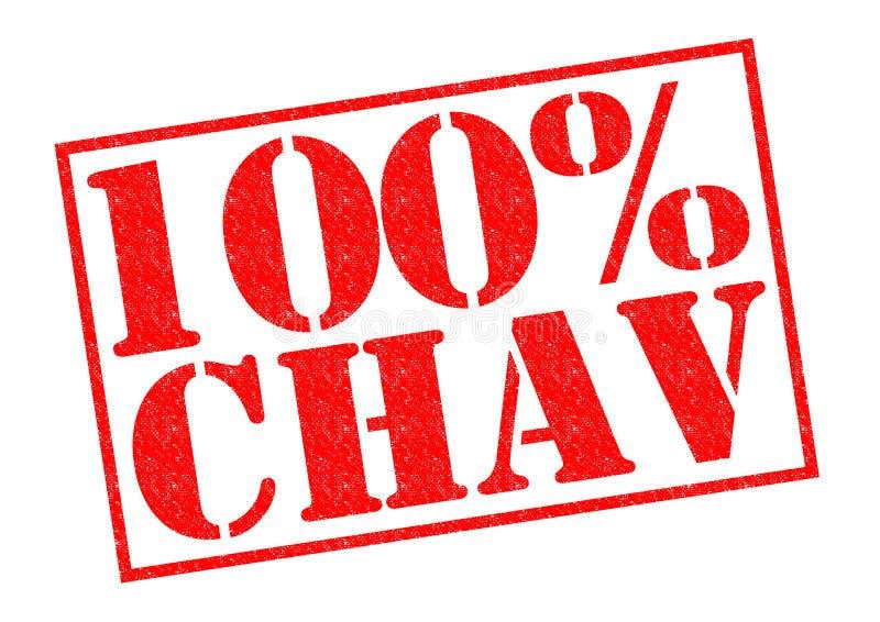 100% CHAV ilustração do vetor