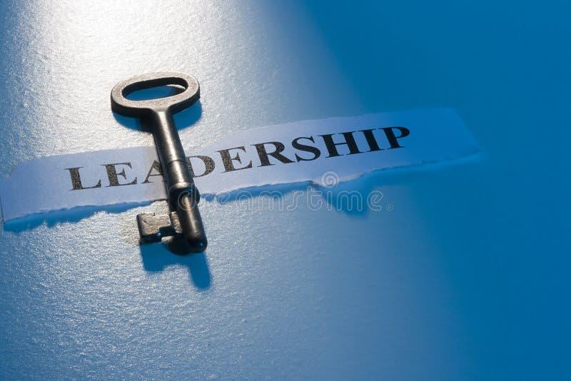 Chave à liderança foto de stock