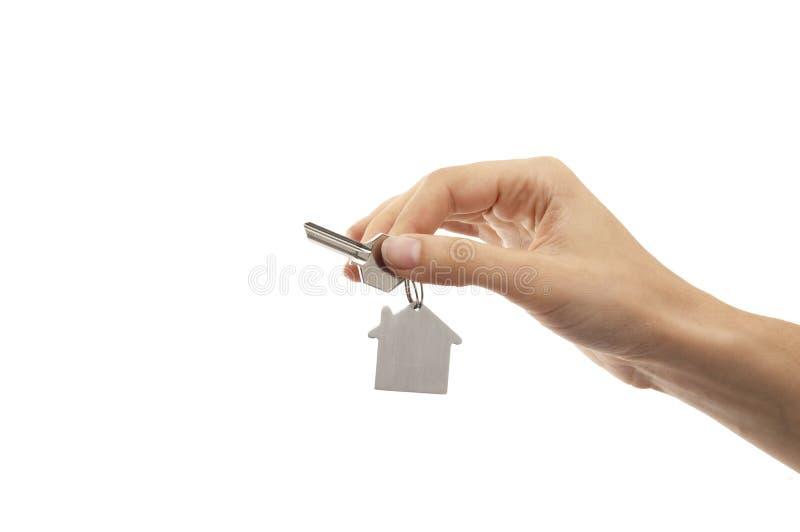 Chave da casa fotografia de stock