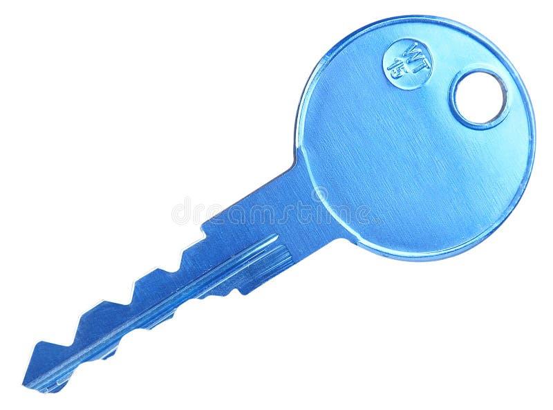 Chave da porta. Isolado imagens de stock
