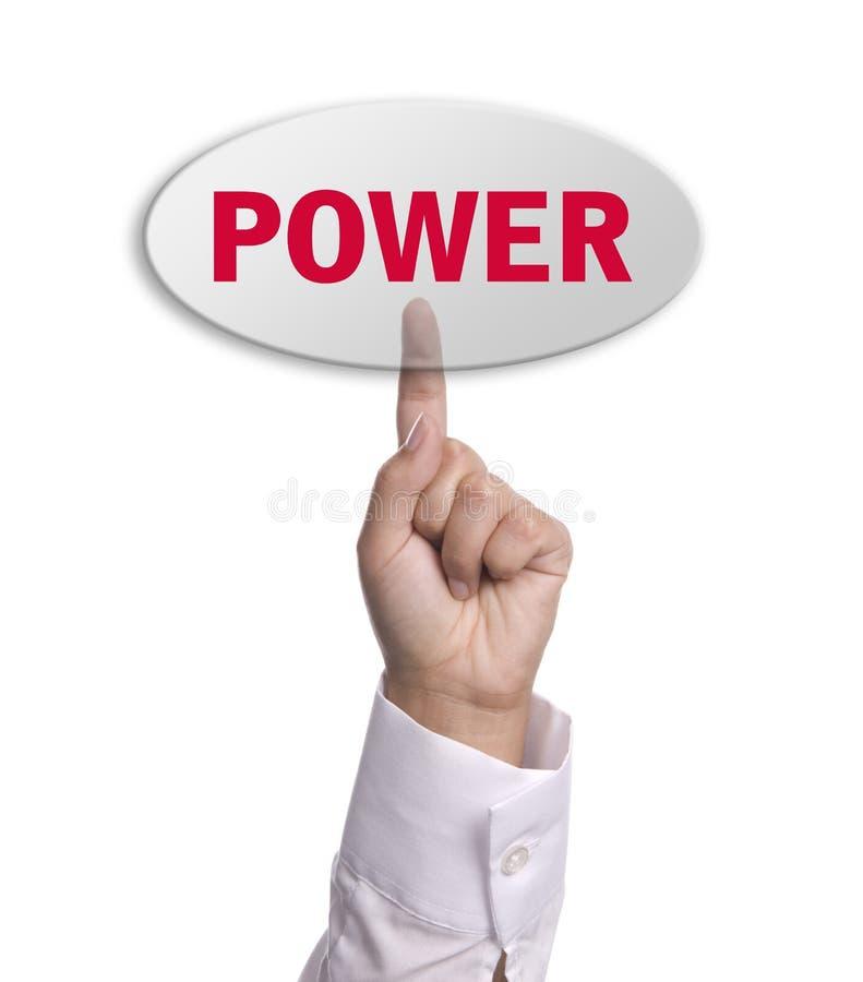 Chave da potência imagens de stock royalty free