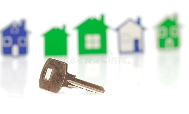 Download Chave de prata imagem de stock. Imagem de abrigo, prata - 29836225