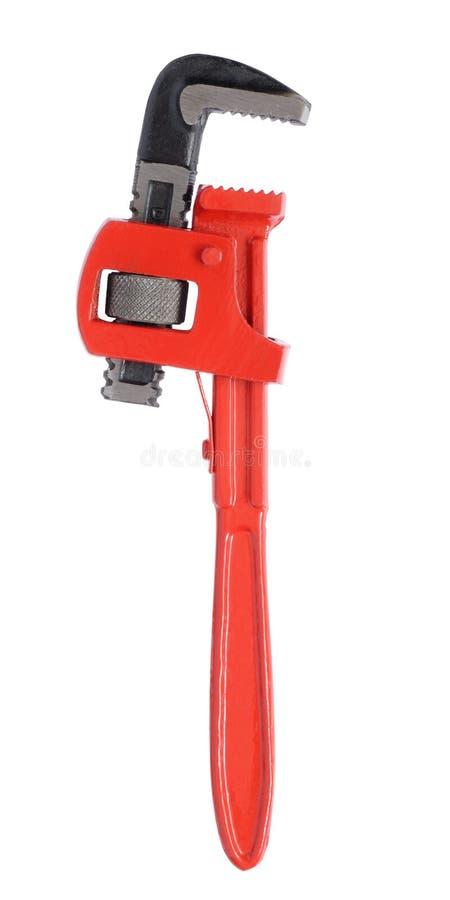 Chave de tubulação foto de stock