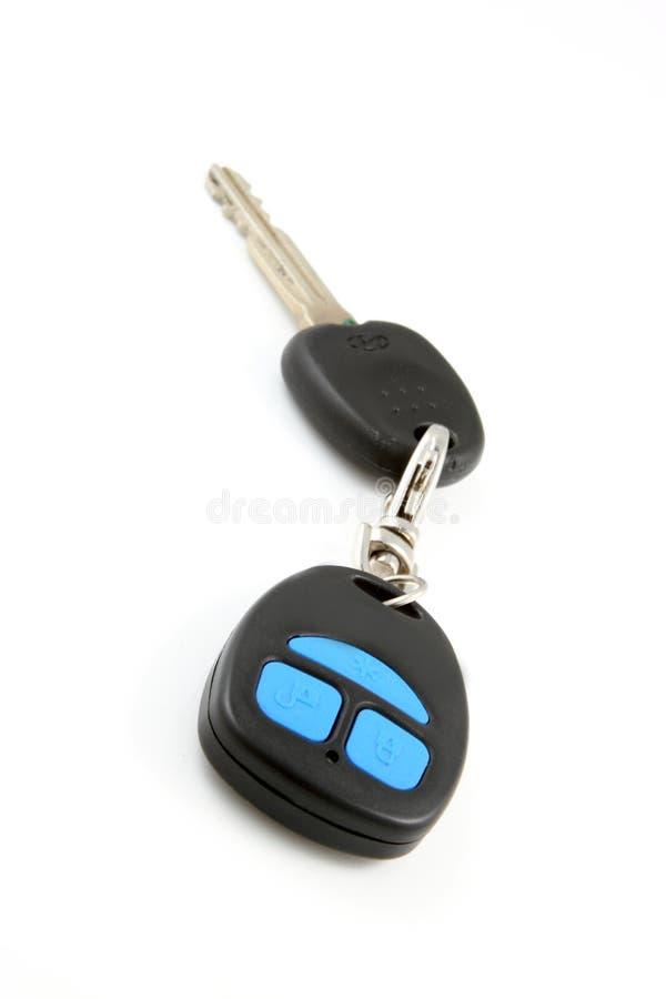 Chave do carro com telecontrole imagens de stock