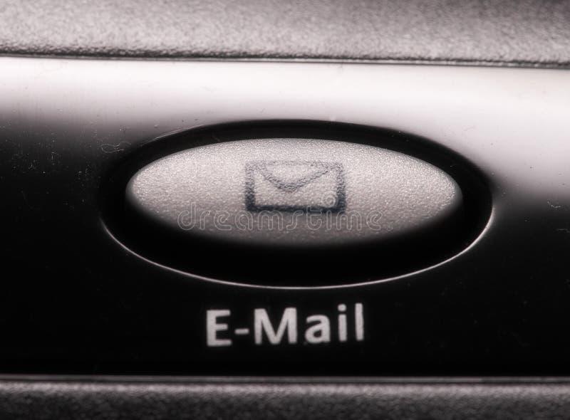 Chave Do Email Fotografia de Stock