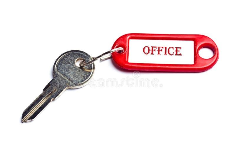 Chave do escritório imagens de stock