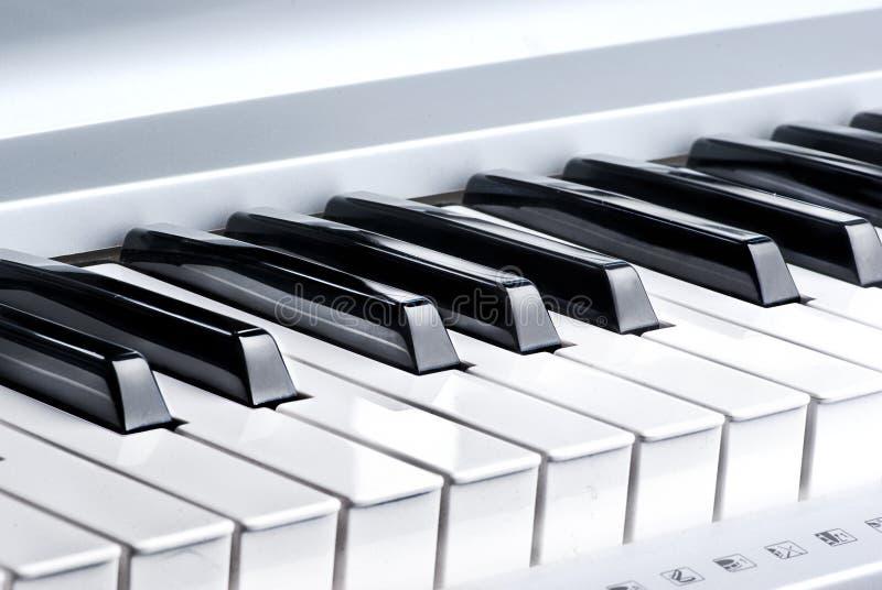 Chave do piano imagem de stock royalty free
