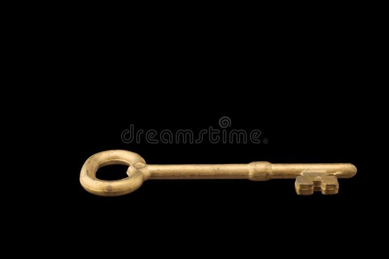 Chave dourada fotografia de stock
