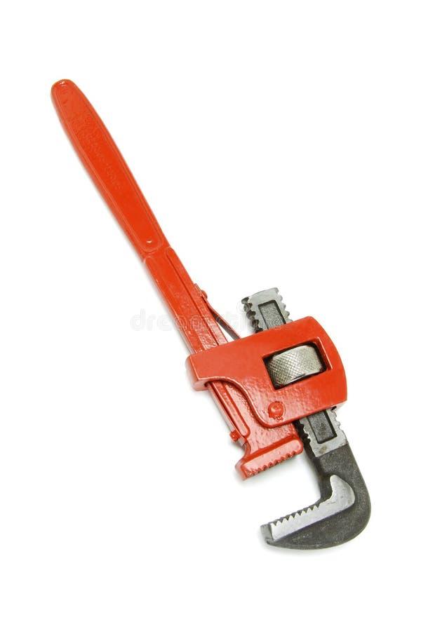 Chave inglesa ajustável imagens de stock