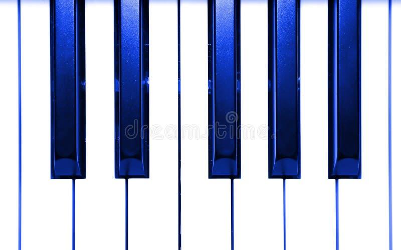 Chaves abstratas do piano foto de stock