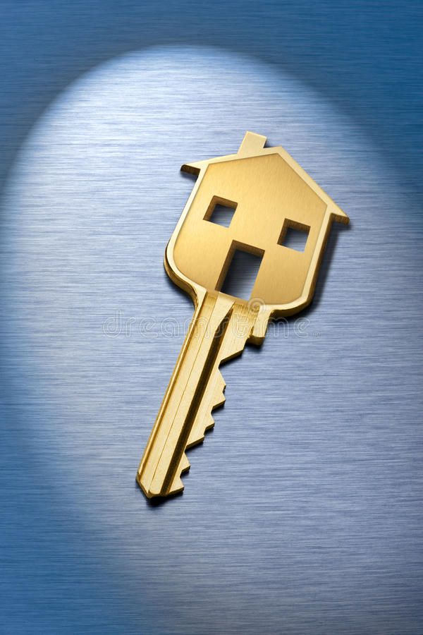 Chaves chaves da casa imagens de stock