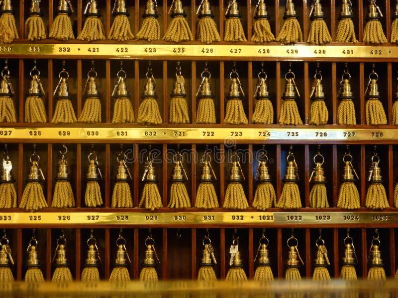 Chaves do hotel fotos de stock royalty free