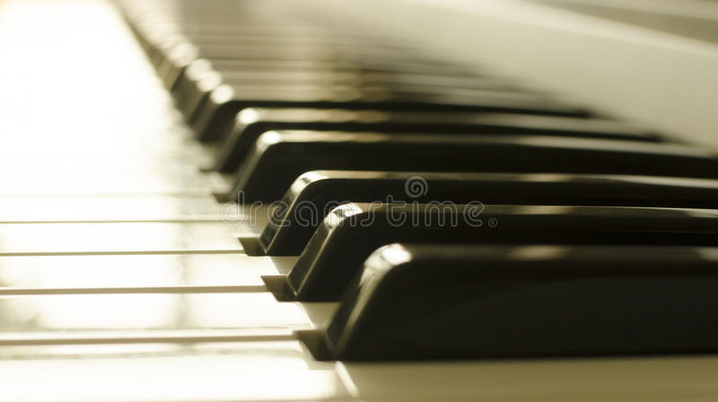 Chaves do piano foto de stock royalty free
