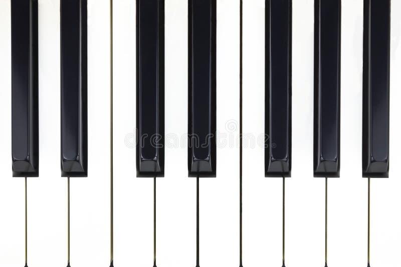 Chaves do piano fotografia de stock