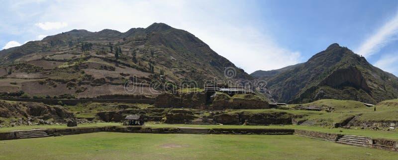 Chavin DE Huantar complexe tempel, Ancash-Provincie, Peru stock foto's