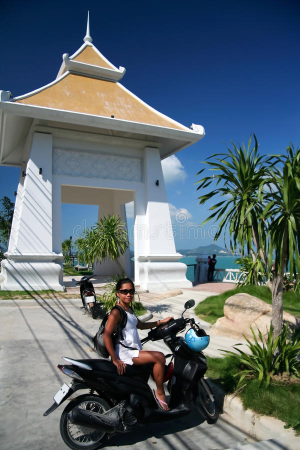 chaweng koh άποψη της Ταϊλάνδης samui στοκ εικόνα με δικαίωμα ελεύθερης χρήσης