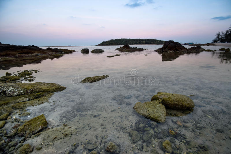 Chaweng plaża przy Samui w Tajlandia zdjęcia stock