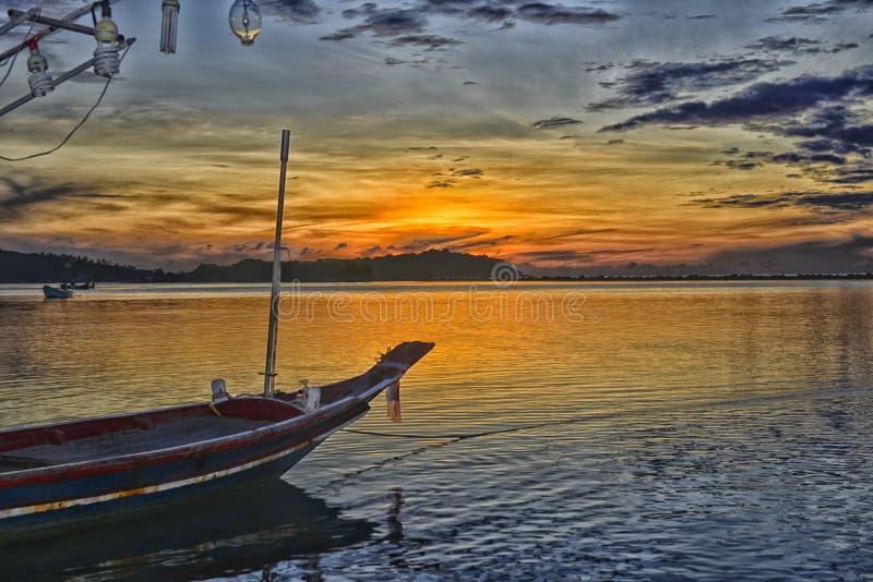 Chaweng strand, ö av Samui, Thailand fotografering för bildbyråer