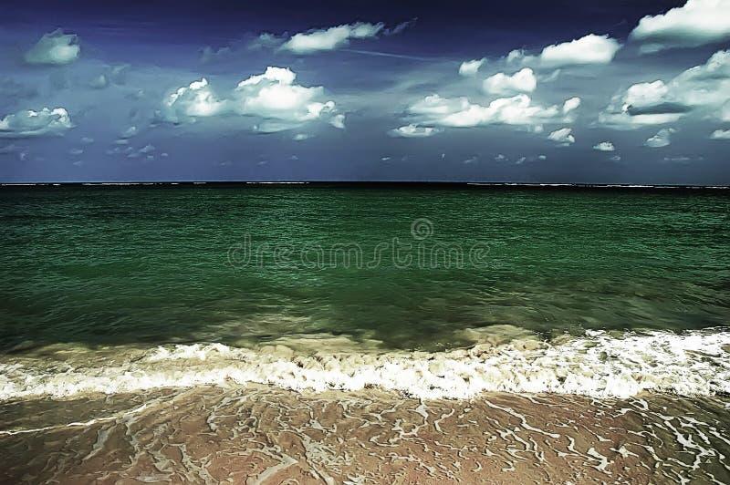 Chaweng Strand lizenzfreies stockbild