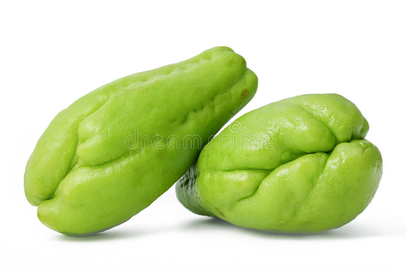 Chayote photo libre de droits