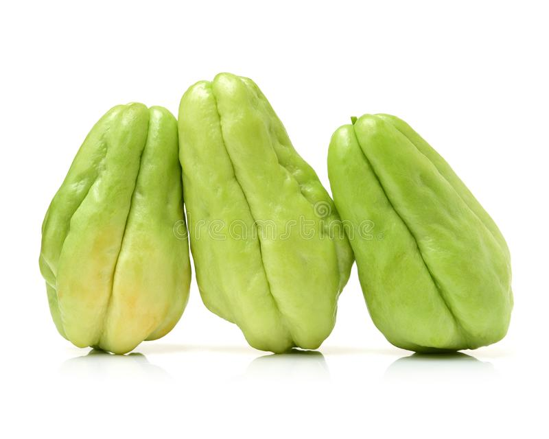 Chayote groente stock foto