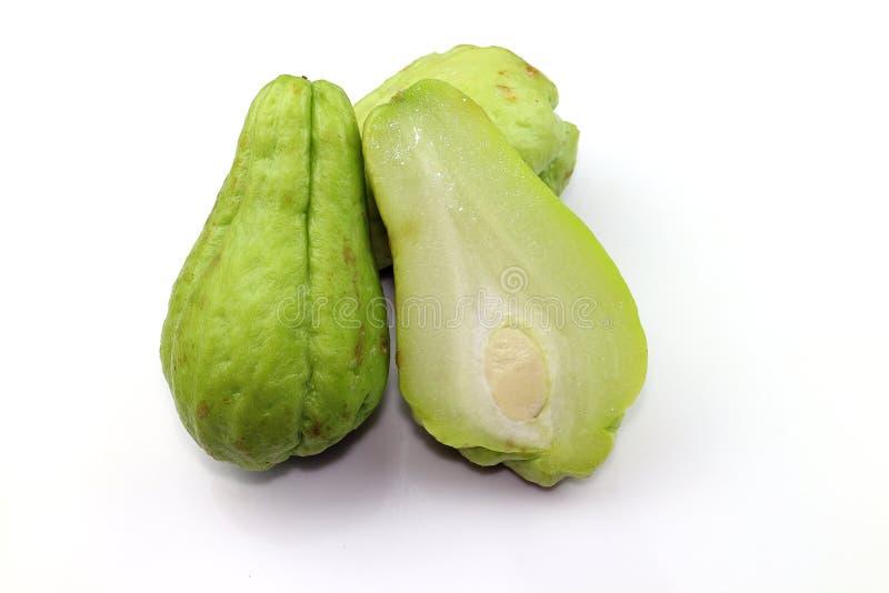 Chayote zoete groente royalty-vrije stock fotografie