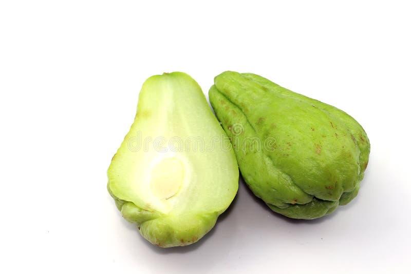 Chayote zoete groente royalty-vrije stock afbeelding