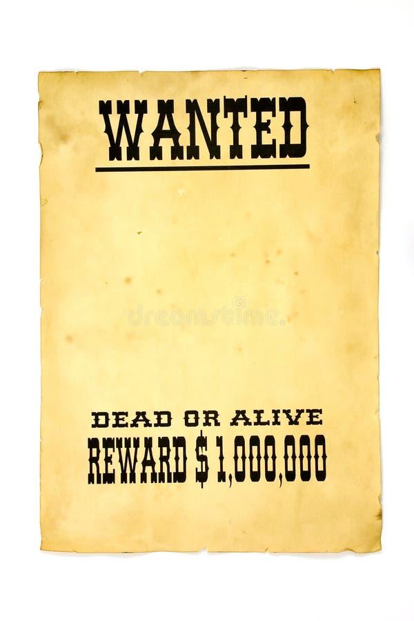 chcesz plakat zdjęcie stock