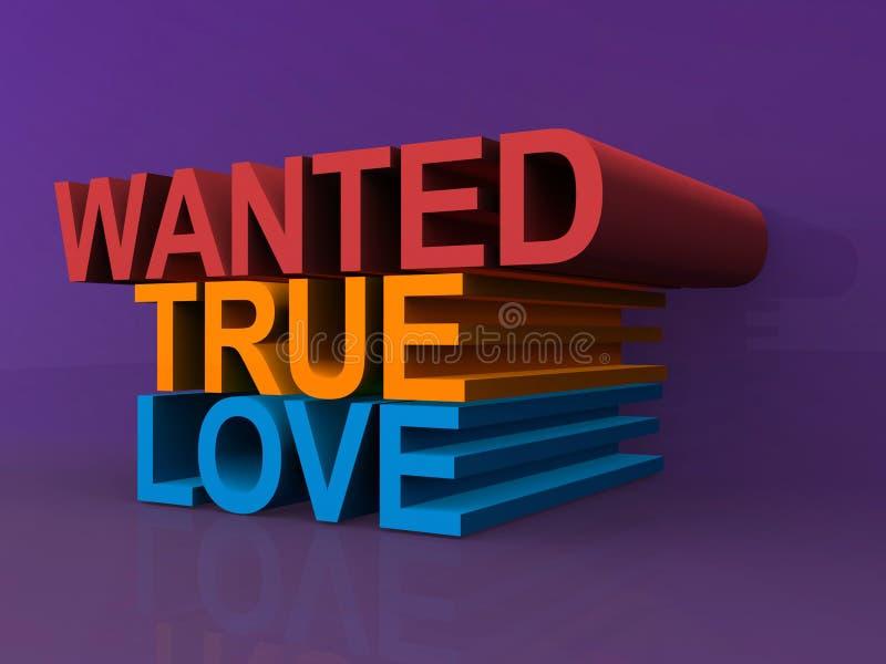 Chcieć prawdziwa miłość zdjęcia royalty free
