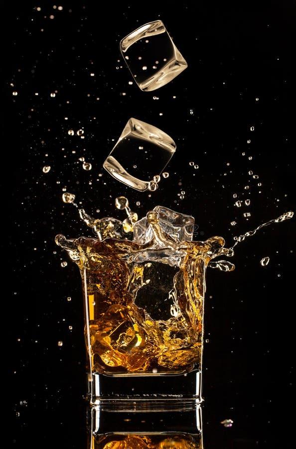 Chełbotania whisky zdjęcia stock