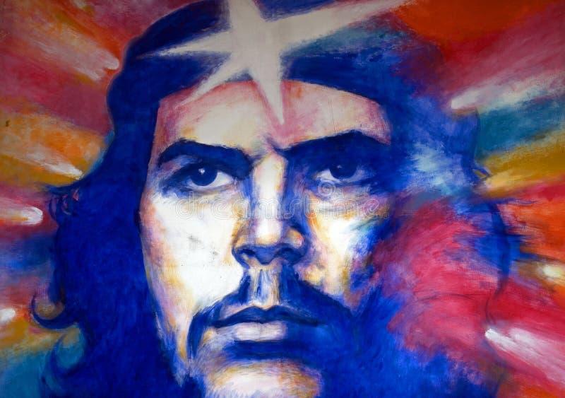 Che, Гавана, Куба стоковые изображения