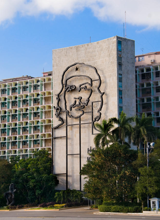 che De Guevara losu angeles pomnikowy placu revolucion obraz stock