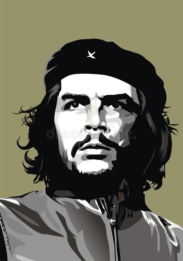 Che Guevara stock illustratie