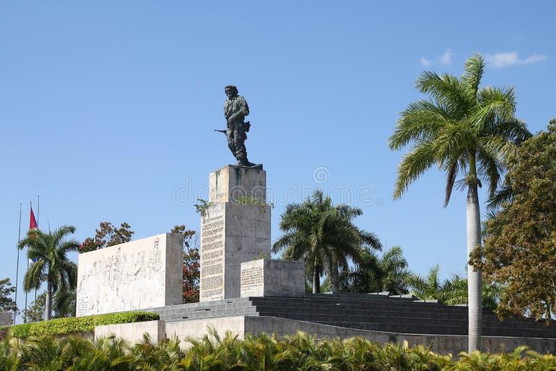 Che Guevara, Cuba. SANTA CLARA, CUBA - FEBRUARY 21, 2011: Che Guevara Mausoleum in Santa Clara, Cuba. The monumental complex was inaugurated in 1988. Che Guevara stock image
