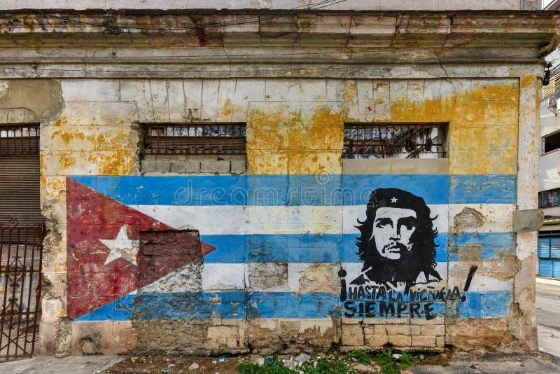 Che Guevara - Hawański, Kuba obraz royalty free