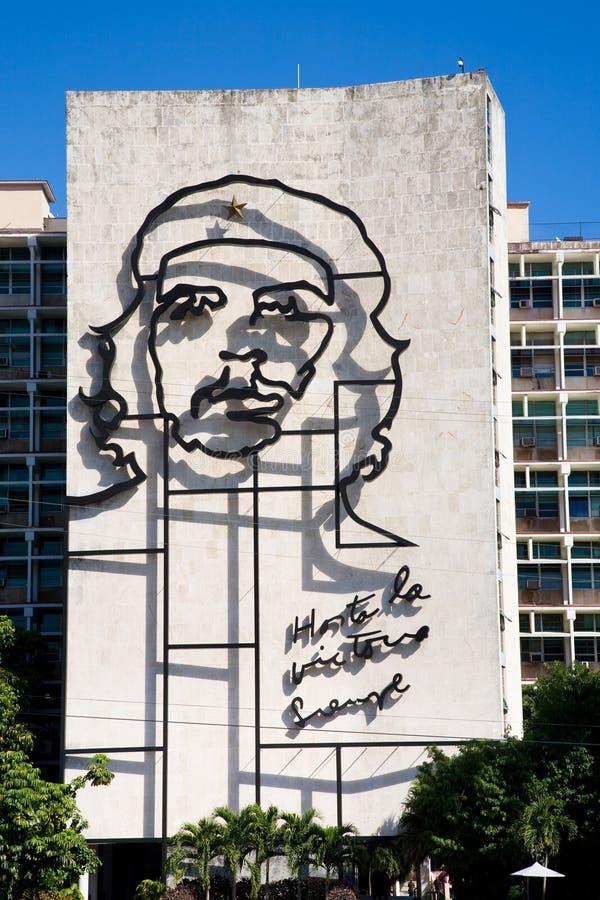 Che Guevara, Kuba obraz royalty free