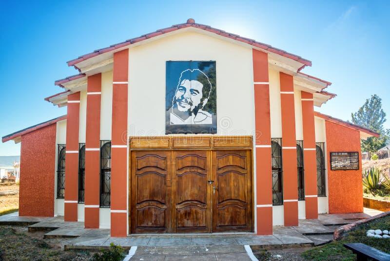 Che Guevara Mausoleum. Mausoleum of the original burial spot of Ernest Che Guevara in Vallegrande, Bolivia royalty free stock photo