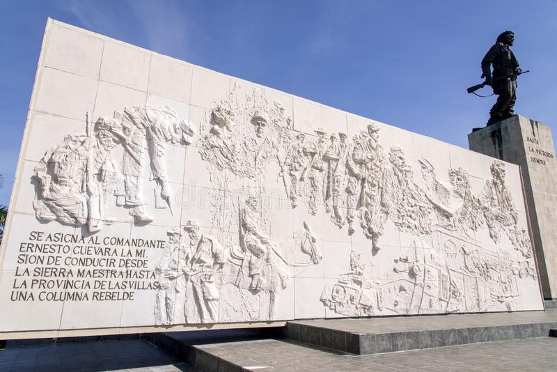 Che Guevara Mausoleum - Santa Clara - Cuba fotografia de stock royalty free