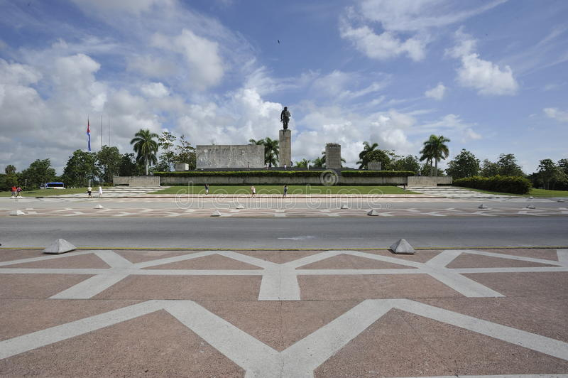 Che Guevara mauzoleum w Santa Clara, Kuba fotografia royalty free