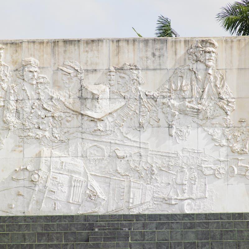 Che Guevara Monument. At Plaza de la Revolution, Santa Clara, Cuba stock image