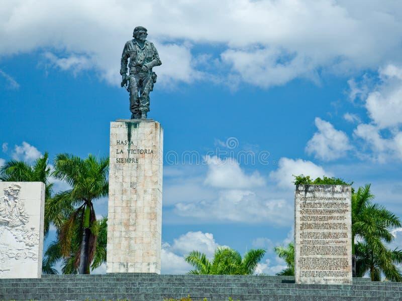 Che Guevara Monument. Plaza de la Revolution, Santa Clara, Cuba royalty free stock photography