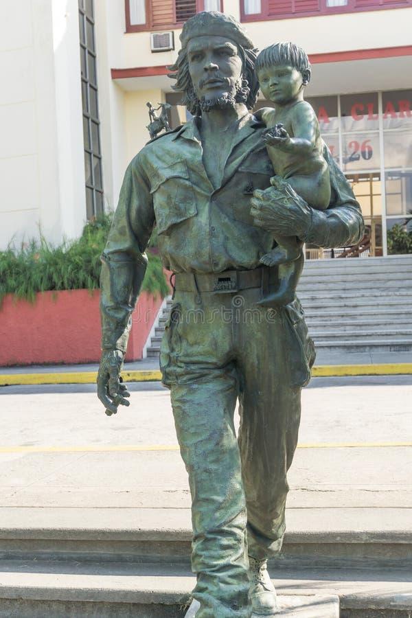 Che Guevara Monument i Santa Clara, Kuba royaltyfria foton